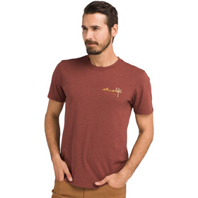 Prana Desert Air T-Shirt Uomo, maple heather